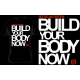 T-Shirt Build Your Body Now (noir) Scitec Nutrition