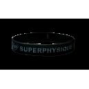 Bracelet silicone noir SuperPhysique