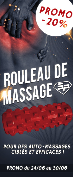 Rouleau massage (vertical du 24/06 au 30/06)