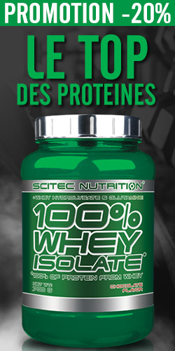 100% whey isolate Vertical (du 17/02 au 23/02)