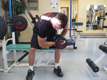 Curl concentré • Musculation des biceps