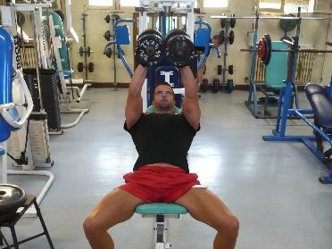 D velopp inclin avec halt res musculation des pectoraux - Exercice de musculation avec banc ...