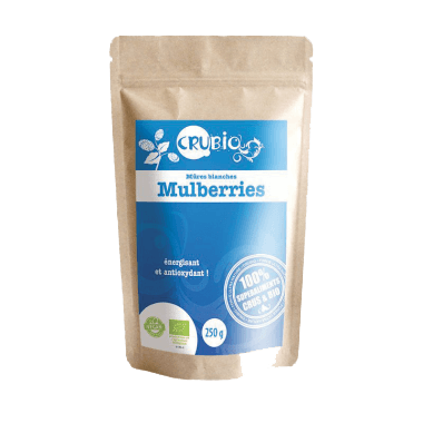 Mulberries bio (Mûres Blanches)