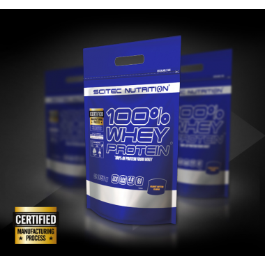 100% Whey Protein Scitec Nutrition (1,8 kg)