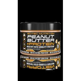 Beurre de cacahuètes + protéines Scitec Nutrition (500 g)