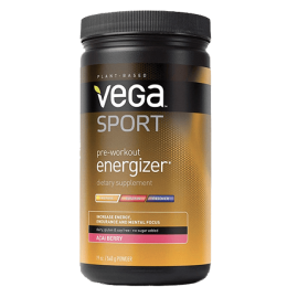 Pre-workout Energizer Vega Sport (0,540 kg)