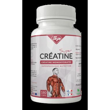 Super Créatine en capsules SuperPhysique Nutrition
