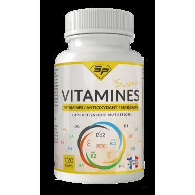 Super Vitamines SuperPhysique (2 mois d'utilisation, fabriqué en France)