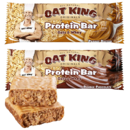 Oat Bars Oat King (10 barres de 95 g)